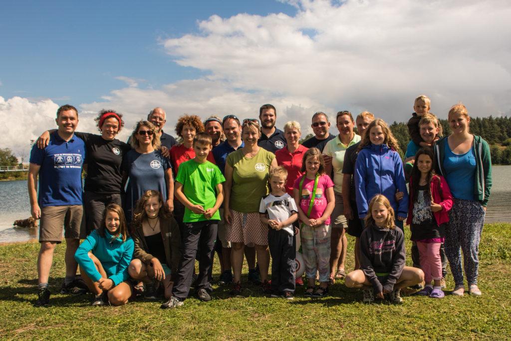 Mitglieder und Freunde des Vereins im August 2016